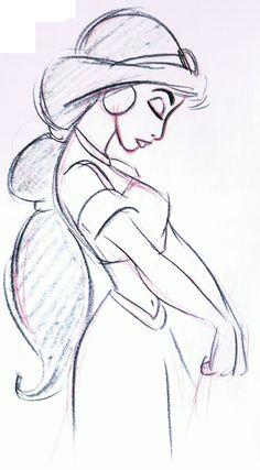 Drawn profile sideways Google drawing sideways jasmine Google