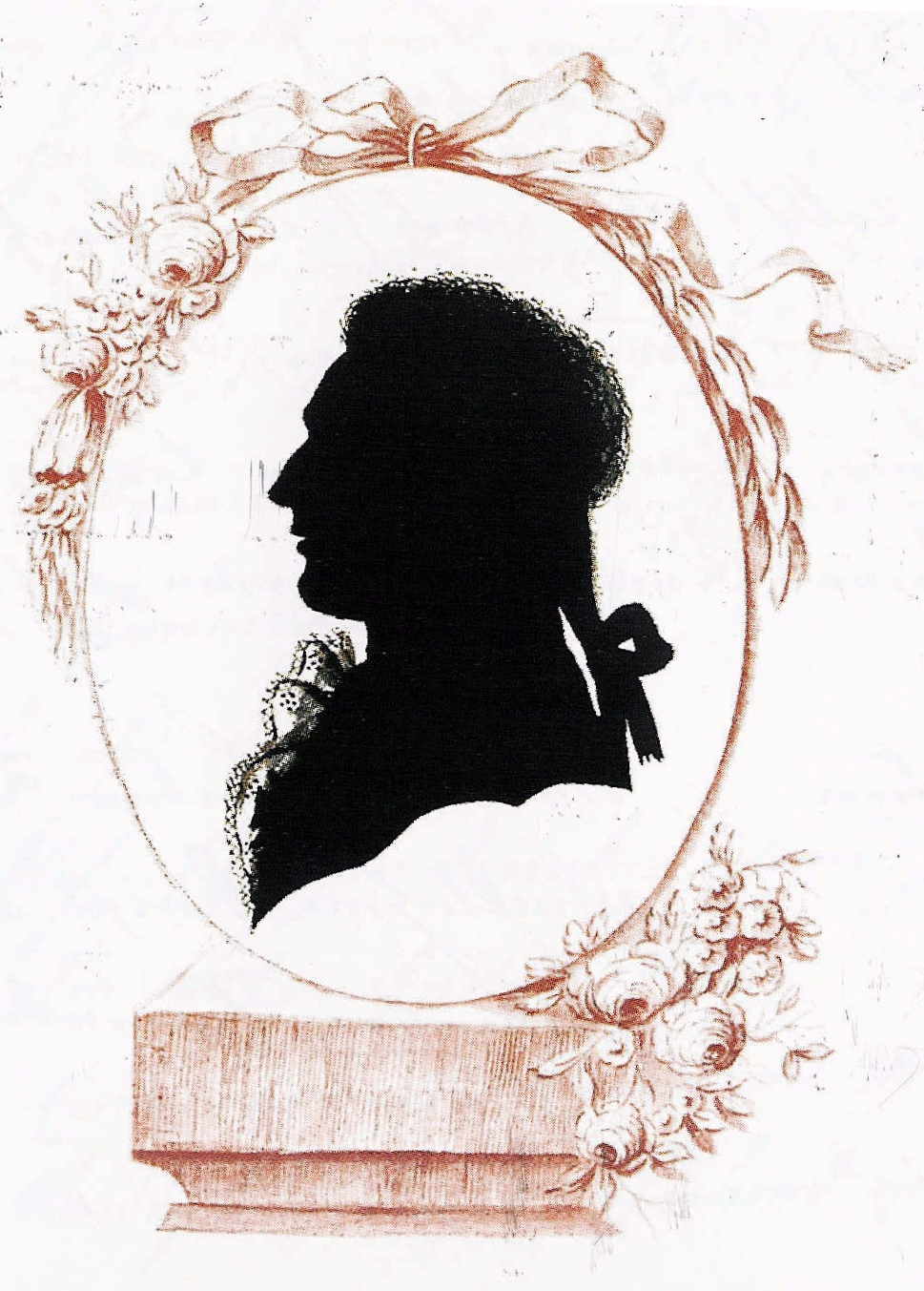 Drawn profile silhouette Wikipedia  Silhouette