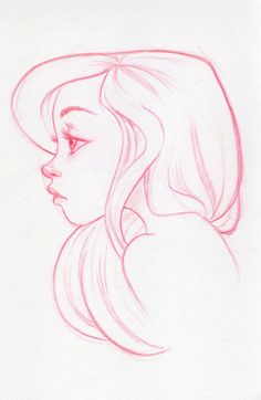 Drawn profile simple By REFERENCES Easy  ✤