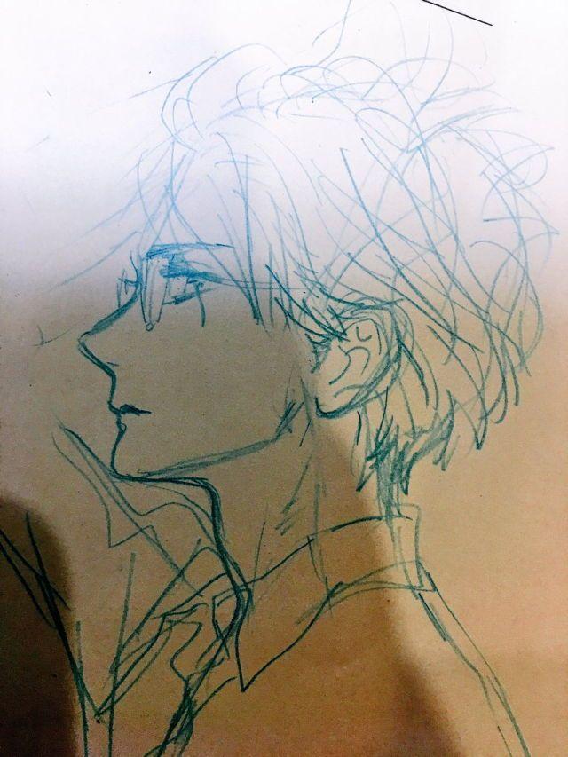 Drawn profile woman profile I around Pinterest Anime ·