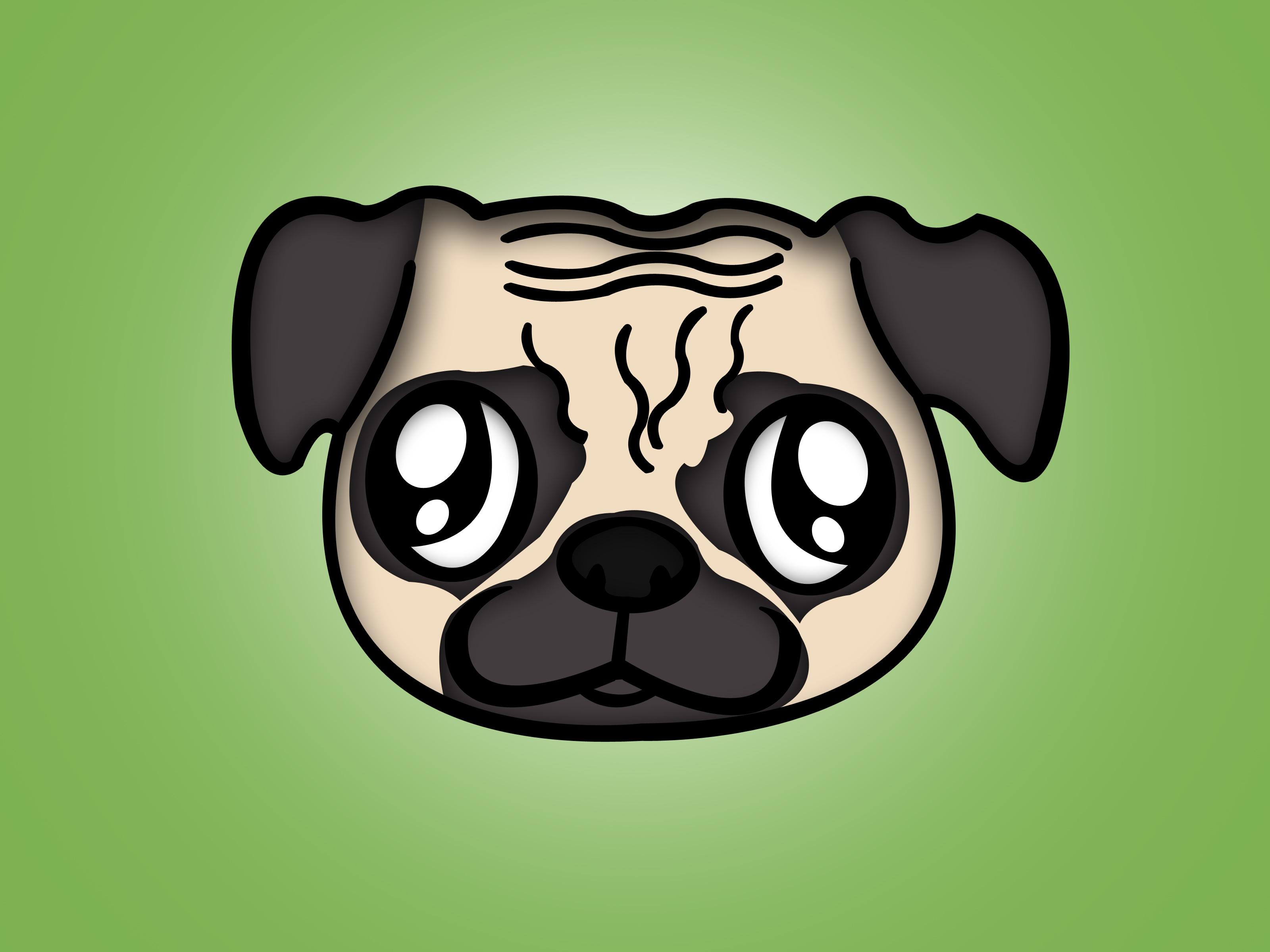 Drawn pug Pug: Steps Draw to How