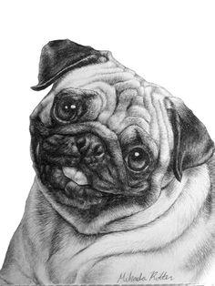 Drawn pug 8 bit My Dans of pug on
