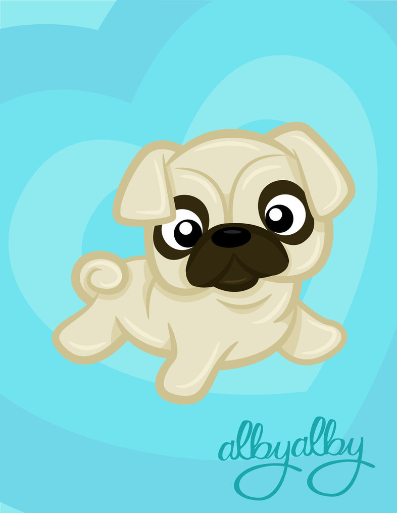 Drawn pug adorable Cute_pug_by_alby_lepetitedreamer Images Anime Filename: Reverse