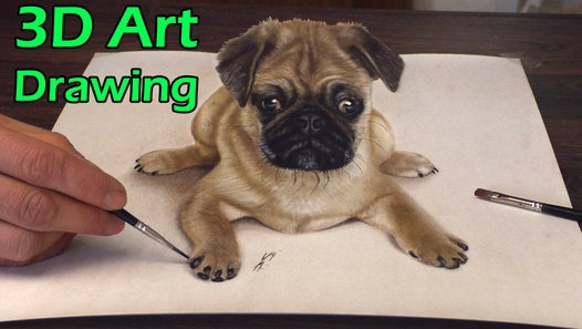 Drawn pug amazing horse Speed 3D Dailymotion sweet of
