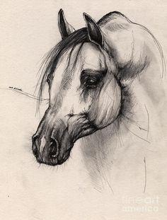 Drawn pug amazing horse Dibujo Horse On horses 2