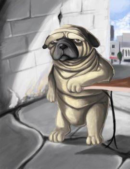 Drawn pug appa By TheFlyingDachshund Cartoon 9 misstressalice