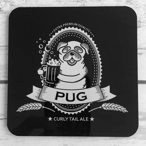 Drawn pug beer My Set – My Is