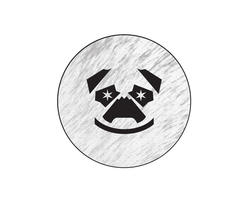 Drawn pug beer STOUT Brewery Distillery — &