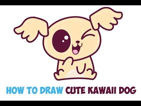 Drawn pug chibi Step a Dog Drawing and
