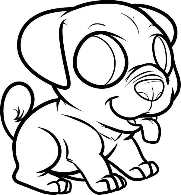 Drawn pug chibi In Page: Coloring Chibi Luna