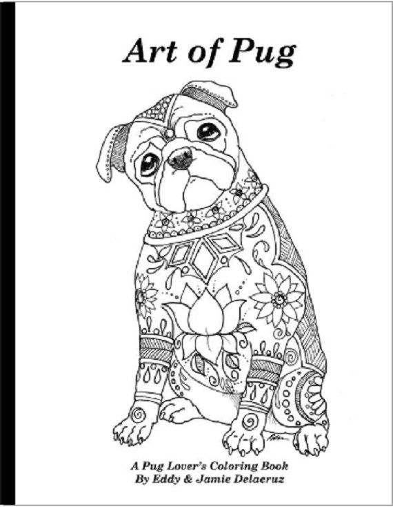 Drawn pug color Pinterest ideas No of pugs
