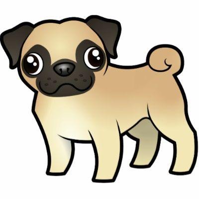 Drawn pug cute Images 21 Pug best Cartoon