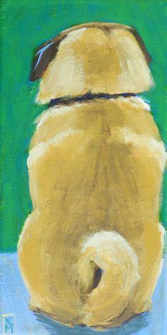 Drawn pug daily Pug Acrylic Paintings: The Painting