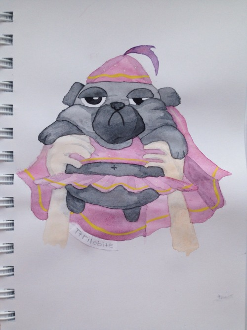 Drawn pug daily Tumblr pewdart  daily