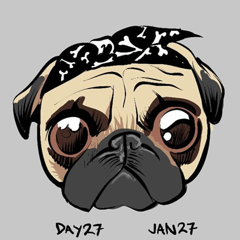 Drawn pug derpy 27 I videos original did