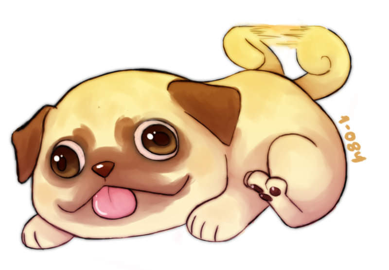 Drawn pug derpy By Derpy 084 Love 084