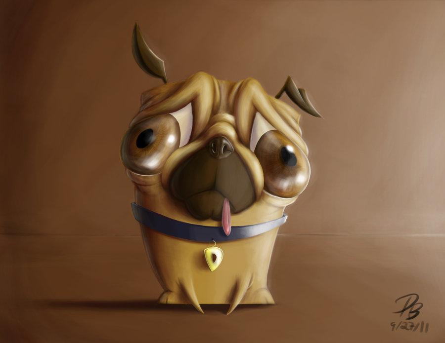 Drawn pug deviantart TheDude NavyBlue Pug TheDude In