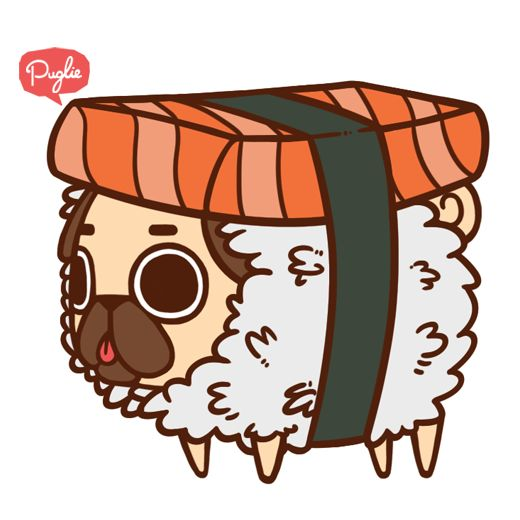 Drawn pug donut Find 90 Pin on on