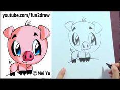 Drawn pug fun2draw A Leaning  Wall To