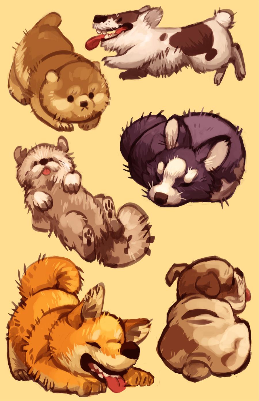 Drawn pug illustration tumblr In drawing load plumweed Nargyle@tumblr