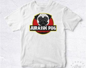 Drawn pug jurassic Pet Jurassic Cute Mignon Puppy