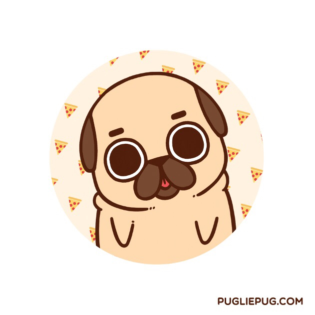 Drawn pug kawaii Ified= more after being this