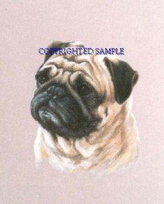 Drawn pug supe On dog Pinterest (bestseller) Pug