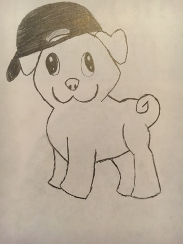 Drawn pug thug Drawing Thug Art/Drawings: Pug Drawing