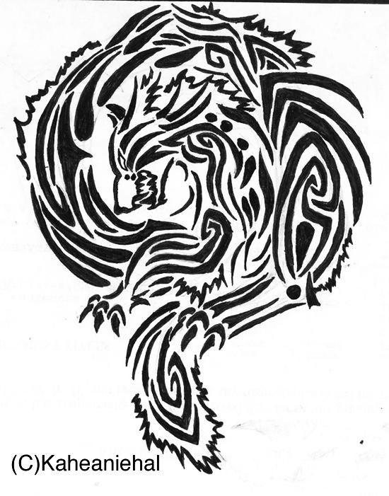 Drawn pug tribal Tribal  Dog Tribal Tattoo