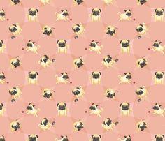 Drawn pug tumblr backgrounds Pugs02 Pug · WallpaperPug Pug