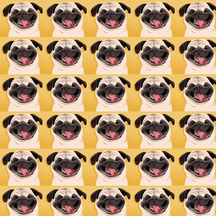Drawn pug tumblr backgrounds 53 PUG Page this Pug