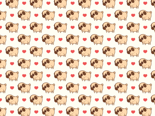 Drawn pug tumblr backgrounds Computer phone your your Puglie