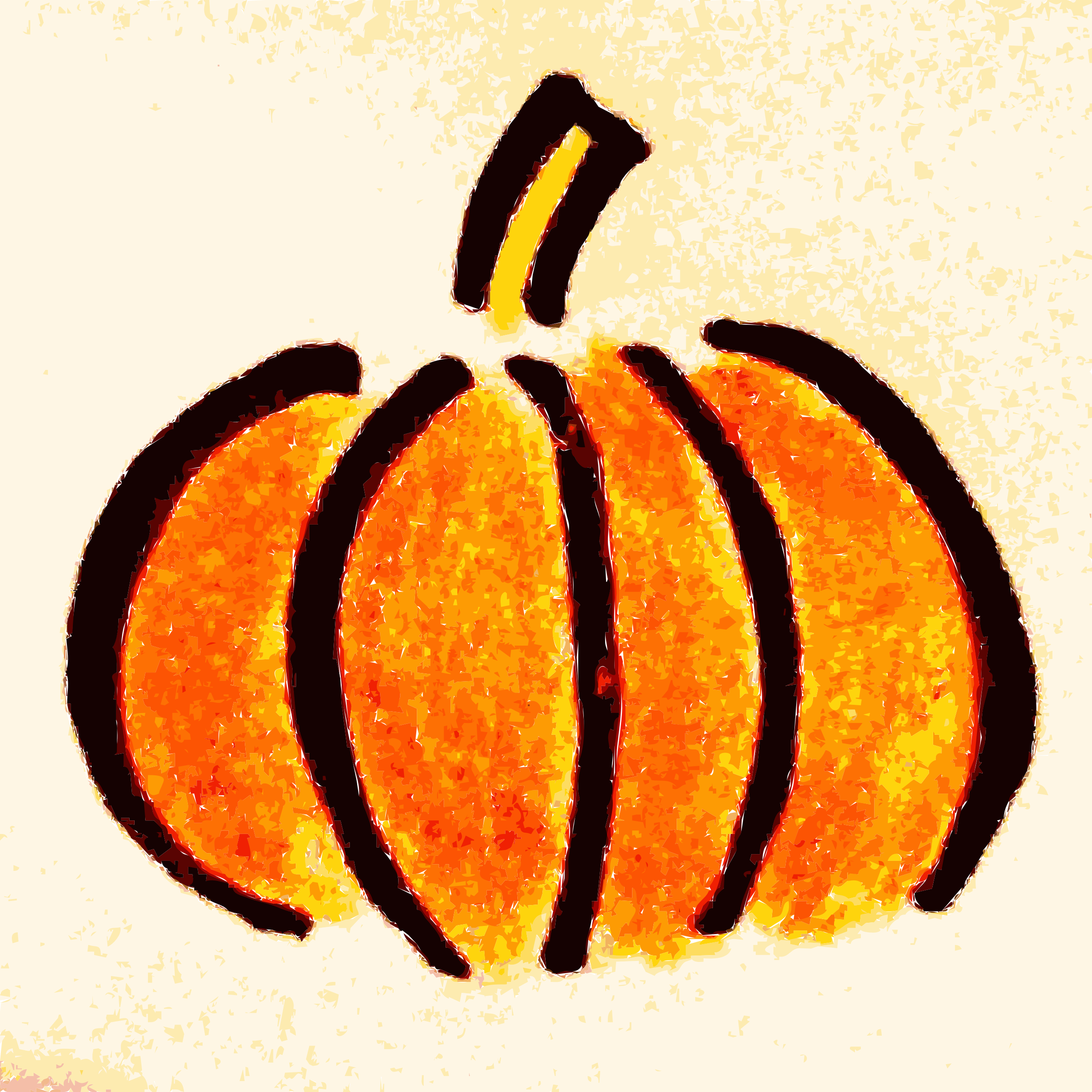 Gourd clipart orange pumpkin Drawn compdclipart com pumpkin pumpkin