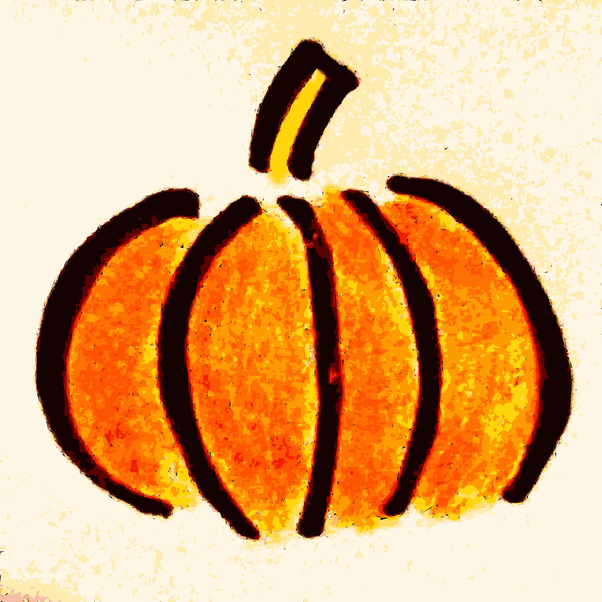 Drawn pumpkin Hand pumpkin drawn drawn pdclipart