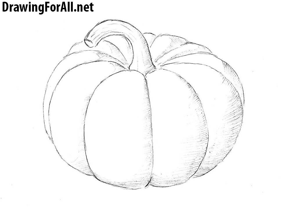 Drawn pumpkin To a Draw Draw Pumpkin