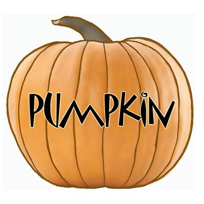 Drawn pumpkin A Halloween Draw a Halloween
