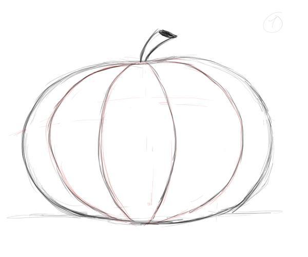 Drawn pumpkin Irregular draw more Factory than