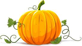 Drawn pumpkin For pumpkin breakfast of Splash!