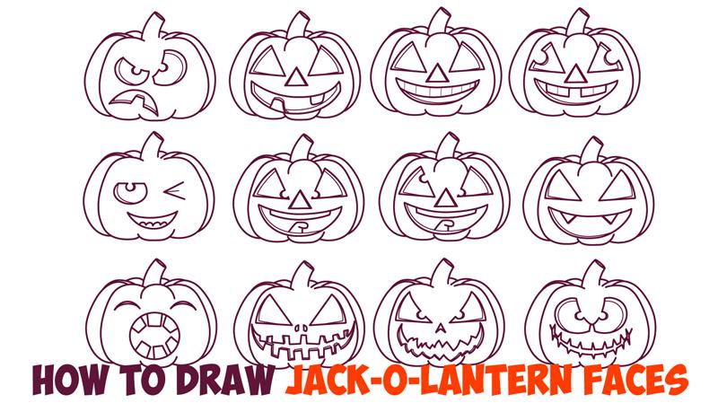 Drawn pumpkin animated Kids to Step Holiday Cartoon
