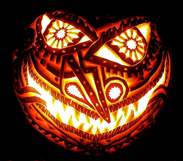 Drawn pumpkin awesome 63 Pumpkin Carvings Mindblowing (Picture