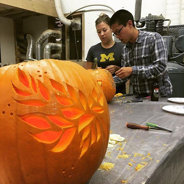 Drawn pumpkin awesome Hand pumpkin carving #pumpkincarvingparty carving