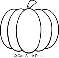 Drawn pumpkin black and white And and 642 Cartoon Illustrations