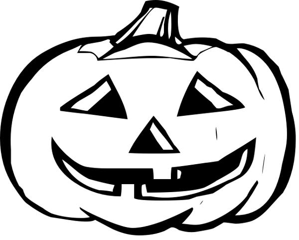 Drawn pumpkin black and white Free Pumpkin on Free Art