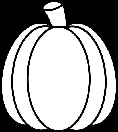 Drawn pumpkin black and white Clipart white Pumpkin and black