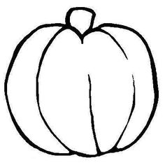 Drawn pumpkin blank Pages are Pumpkin of a