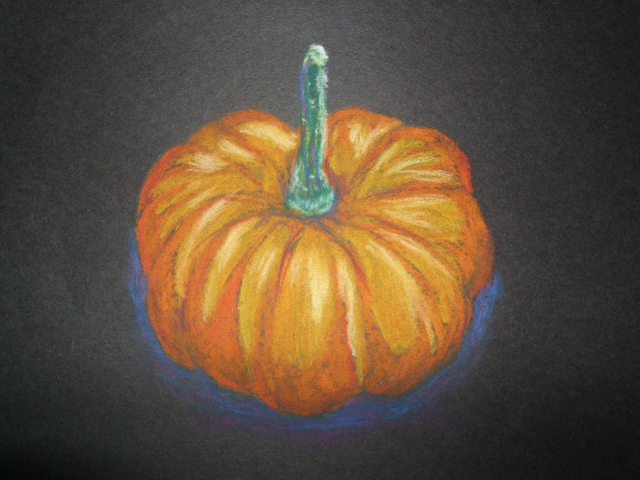 Drawn pumpkin chalk By Of Lessons Teach Talrashara