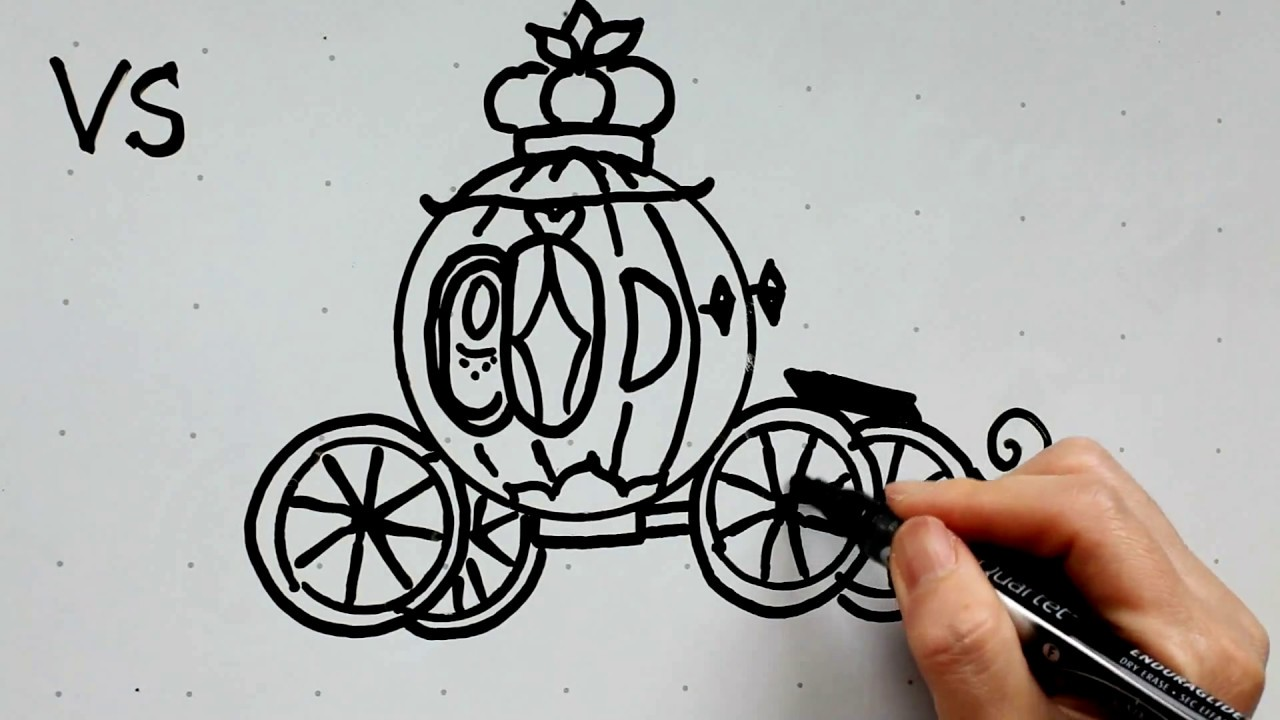 Drawn pumpkin cinderella pumpkin In Draw Disney 6 to