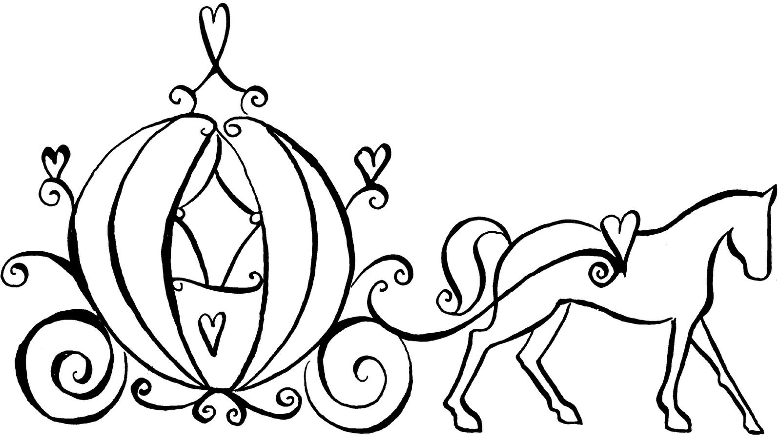 Drawn pumpkin cinderella pumpkin Pumpkin Silhouette Silhouette Outline With