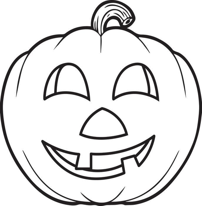 Drawn pumpkin color for kid Printable Kids Page Sheetjpgjpg Peruclass