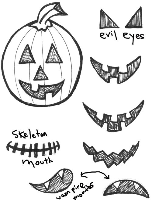 Drawn pumpkin easy Pinterest by to with Drawing